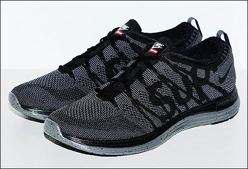 Supreme x Nike Flyknit Lunar 1+ Black Grey