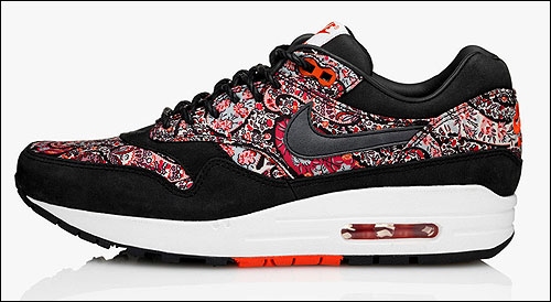 Nike WMNS Air Max 1 Bourton Liberty Print Black