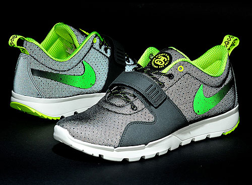 Nike SB Trainerendor x Stussy Black Neon Green